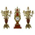 Часы с канделябрами