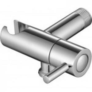 Настенный кронштейн с держателем и краном для соединения шланга Kaiser 0049 Chrome