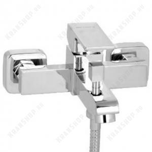 Однорычажный смеситель для ванны с душем Bennberg 130111 (хром)