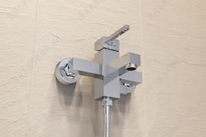 Cмеситель для ванны Elghansa Kubus 23A9741 Chrome (без д/к)