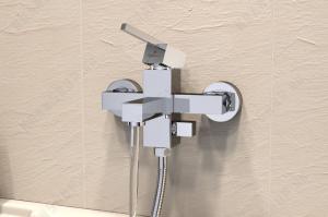Cмеситель для ванны Elghansa Kubus 23A9741-ML Chrome