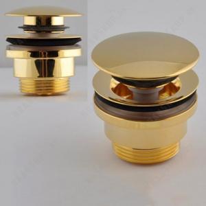 Донный клапан для раковины Remer 905CCR114DO Золото
