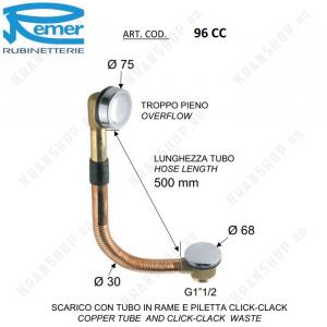 Обвязка для ванны Remer 96CC Хром
