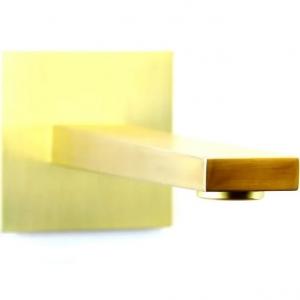 Излив настенный Webert Pegaso AC0327794 Золото матовое