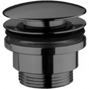 Донный клапан для раковины Webert Aria AC0405560 Черный матовый