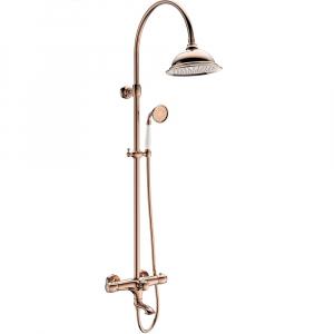 Душевая система AltroBagno Beatrice 030403 ROr Розовое золото