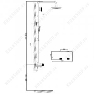 Душевая система D&K Bayern Potsdam DA2193701B17