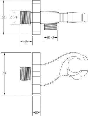 Подключение для шланга ZorG AZR 5 BR