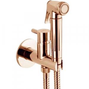 Гигиенический душ со смесителем Webert EL870301980 Розовое золото