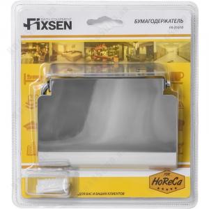 Бумагодержатель с крышкой Fixsen Hotel FX-31010 Хром
