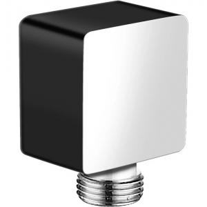 Подключение для шланга Hansberge CUBITO H107BC Black/Chrome
