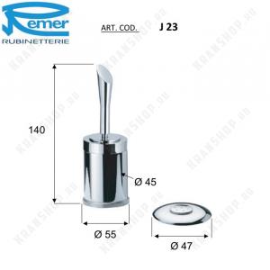 Cмеситель для биде с форсункой Remer Jazz J23 Хром