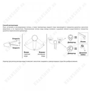 Cмеситель для ванны Lemark Atlantiss LM3214C Chrome