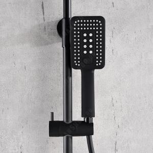 Душевая система AltroBagno Lamberto 030417 NeOp Черный