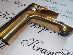 Смеситель для раковины WasserKRAFT Aisch 5503 Gold