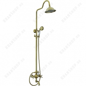 Душевая система Seaman Barcelona SSL-5523 Antique Gold