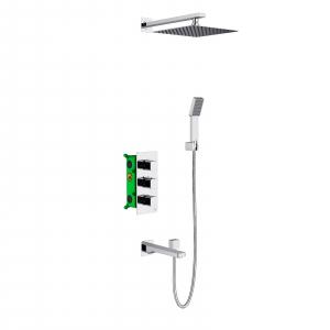 Душевая система TIMO с термостатом Petruma SX-5049/00SM Хром