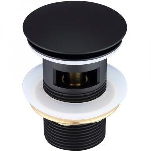 Донный клапан для раковины Elghansa Waste Systems WBT-122-Black