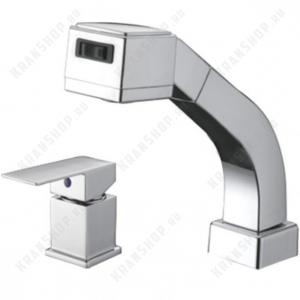 Однорычажный смеситель для кухни ZorG Sanitary ZR 155572 Chrome