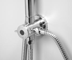 Душевая система WasserKRAFT A045 CR