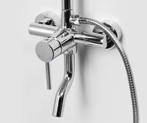 Душевая система WasserKRAFT A14401 CR
