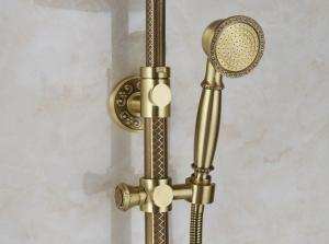 Душевая система ZorG Antic A 201DS-Bronze
