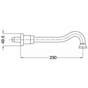 Излив настенный Migliore Ricambi ML.RIC-19326 DO