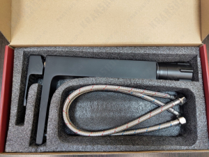Смеситель для раковины Kaiser Elite 01111-2 Black