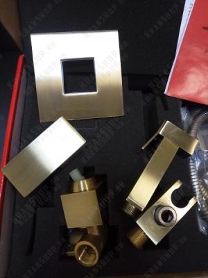 Смеситель встраиваемый для гигиенического душа Kaiser Sonat 34377-1 Bronze