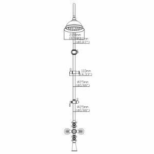 Душевая система Seaman Eco Koblenz SSN-2368C