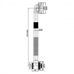 Обвязка для ванны Veragio SBORTIS VR.SBR-8331.BR