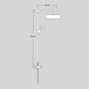 Душевая система Veragio AGATHA VR.AGA-9940.BR