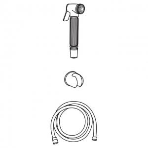 Гигиеническая лейка в наборе Veragio KIT VR.KIT-2222.CR