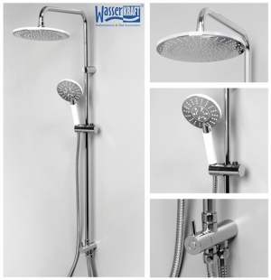 Душевая система WasserKRAFT A039 CR