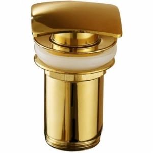 Донный клапан для раковины KorDi KD F706 Quadro Gold