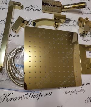 Душевая система Grohenberg GB7007-1 Gold