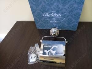 Бумагодержатель Boheme Murano 10901-W-CR