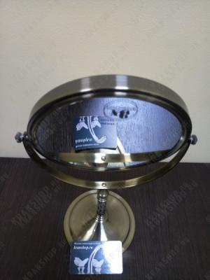 Зеркало настольное увеличительное Boheme Medici 502 бронза