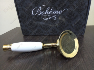 Ручной душ Boheme Imperiale 408 золото