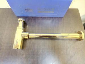 Сифон для раковины GANZER A-2E GOLD