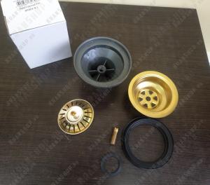 Слив для кухонной мойки Zorg Inox W 1 Bronze