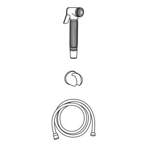 Гигиеническая лейка в наборе Veragio KIT VR.KIT-2222.BR