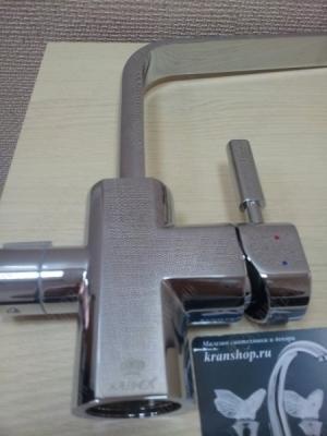 Смеситель для кухни под фильтр + дозатор Kaiser Decor 40144-20 Chrome
