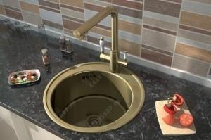 Однорычажный смеситель Elghansa Terrakotta 56A5740 (бронза)
