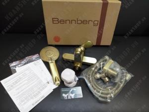 Душевая стойка Bennberg 160212-02 BR бронза