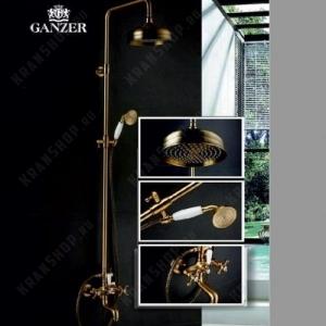 Душевая система GANZER GZ25068D Бронза