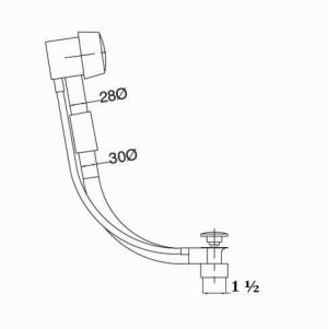 Обвязка для ванны Migliore Ricambi ML.RIC-20.708.DO