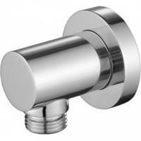 Настенный кронштейн для соединения душевого шланга, круглый Kaiser 0053 Chrome