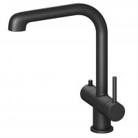 Смеситель для кухни с подключением фильтра и выдвижной лейкой TIMO Saona 2346/03FL Черный