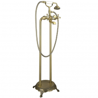 Смеситель для ванны напольный TIMO Nelson 1900Y-CR Antique